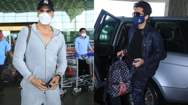 Bell Bottom: Akshay Kumar, Jackky Bhagnani And Team Take Off To United Kingdom For Film's Shoot