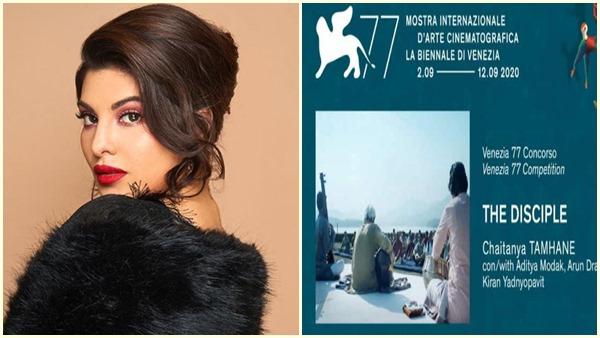 Jacqueline Fernandez Supports Marathi Film The Disciple's Venice International Film Festival Entry