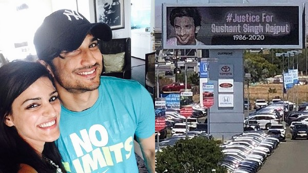 Sushant's Sister On #JusticeForSushantSinghRajput Billboard In California: It's A Worldwide Movement