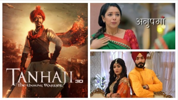 ALSO READ: Latest TRP Ratings: World TV Premiere Of Tanhaji Tops The Chart; Anupamaa Retains Second Place