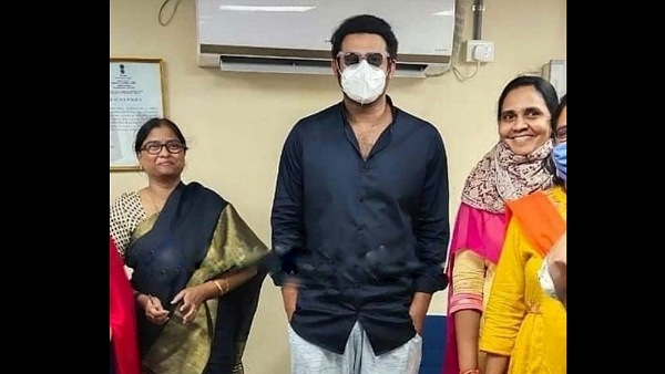 Prabhas Spotted At Hyderabad's Road And Transport Authority Office, Pictures Go Viral!