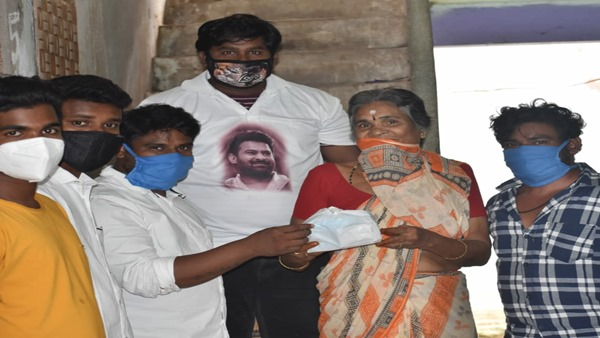Prabhas' Fans Donate PPE Kits To Aged People