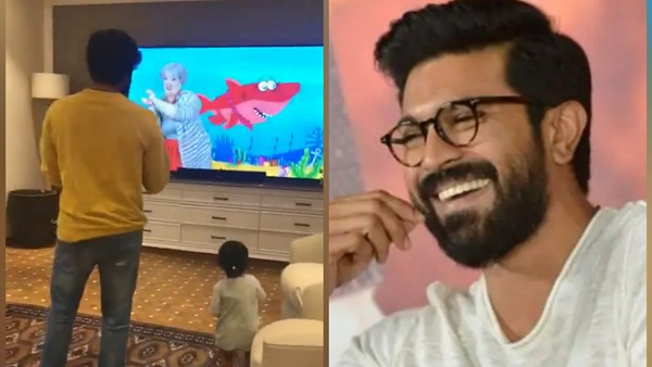 Ram Charan's Dance Video With Niece Navishka On Baby Shark Song Takes The Internet By Storm!