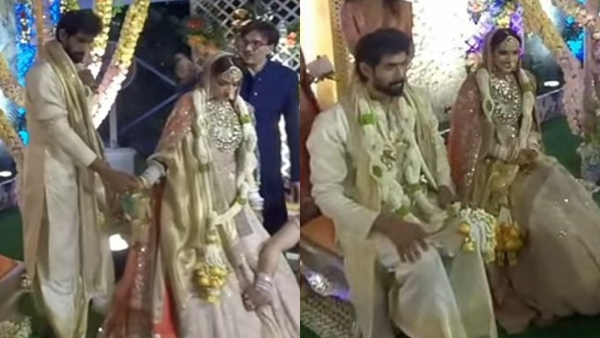 Rana Daggubati And Miheeka Bajaj Tie The Knot | Rana Daggubati And Miheeka Bajaj Get Married