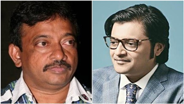 RGV Announces Film On Journalist Arnab Goswami!