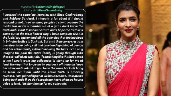 Lakshmi Manchu's Post