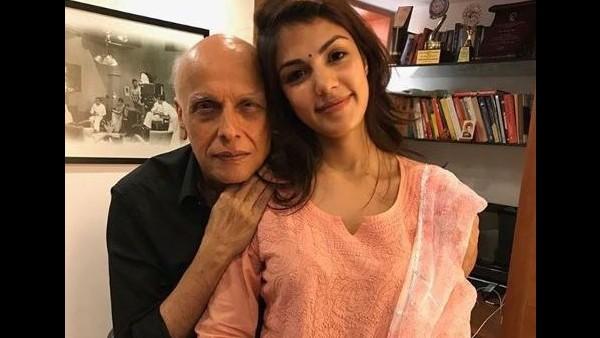 Rhea Chakraborty Was In Touch With Mahesh Bhatt