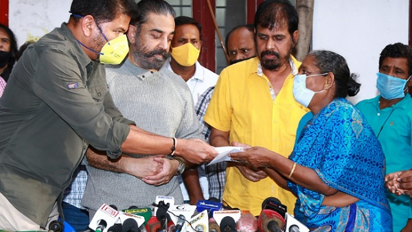 Kamal Haasan And Shankar Give Relief Amount Of Rs 4 Crore To Indian 2 Accident Victims and Families