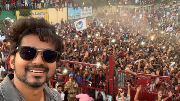 Vijay's Remarkable Selfie With Fans Becomes The Most Retweeted Post On Twitter