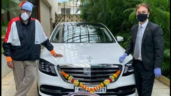 Here's How Netizens Reacted To Big B's New Swanky Car
