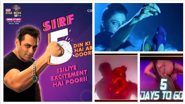 Bigg Boss 14 PROMOS: Contestants Nikki Tamboli, Pavitra, Rubina-Abhinav Groove To Bollywood Hits