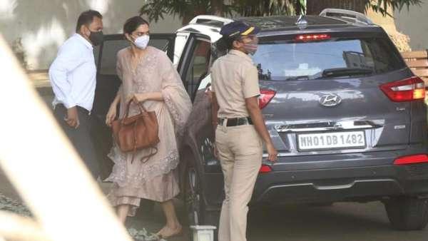 Deepika Arrived At NCB On 9:45 Am