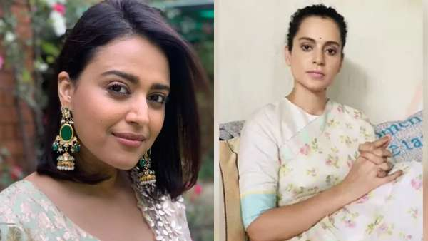Netizens Call Out Swara Bhasker As She Laughs At Kangana Ranauts Death Of Democracy Statement