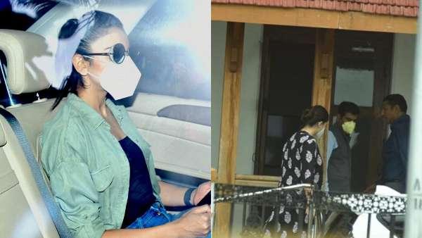 Rakul Preet Singh And Deepika Padukone's manager Karishma Prakash Arrive At NCB Office
