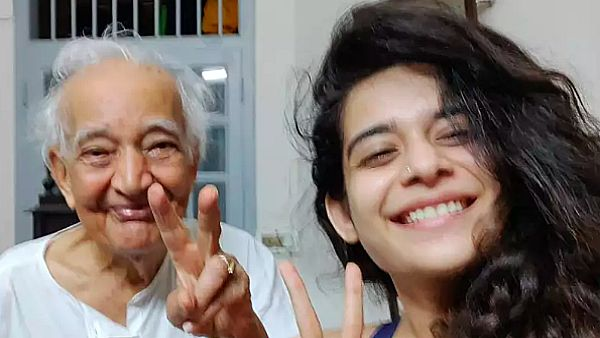 Mithila Palkar's 93-Year-Old Grandpa Recovers From COVID-19
