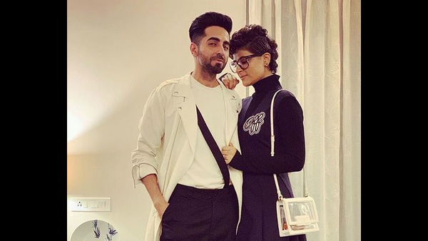Ayushmann And Tahira's Friends From The Industry Reacted Like This To Their Cute PDA