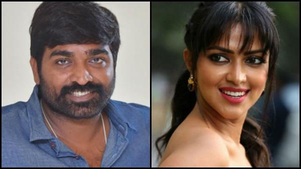 Vijay Sethupathi And Amala Paul To Feature In Romantic Anthology?