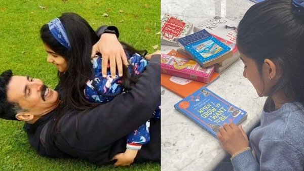 Akshay, Twinkle Wish Nitara On Her 8th Birthday