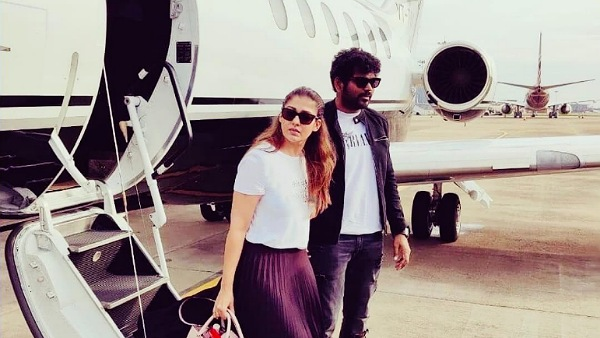 Nayanthara And Vignesh Shivan Are Back To Chennai After Goa, Kerala Vacay! Pictures Go Viral!