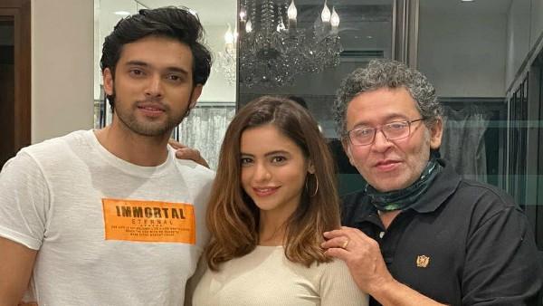 Kasautii Zindagii Kay 2: Aamna Sharif Parties With Co-Stars Parth Samthaan And Uday Tikekar