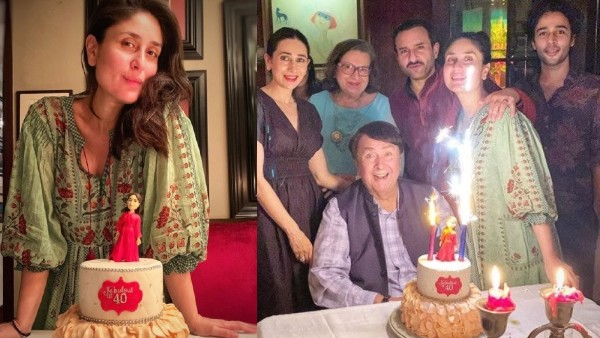 Kareena Kapoor's Birthday Party: Actress Turns 40 In Style; Celebrates With Saif, Karisma And Others