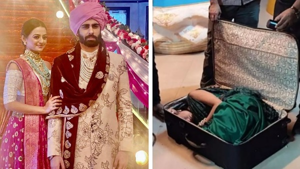 Helly's 'Viral' Suitcase Scene