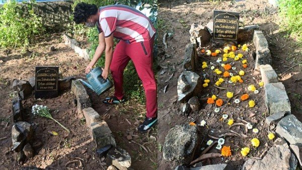 Irrfan's Son Shares Pictures Of Late Actor's Grave
