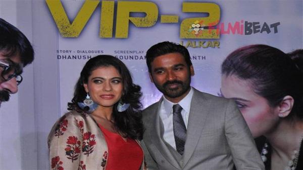 Dhanush On Casting Kajol In VIP 2