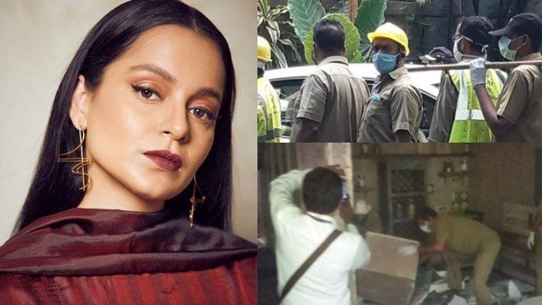 Kangana Ranaut On Demolition Of Her Office: My Enemies Prove Again Why Mumbai Is PoK Now