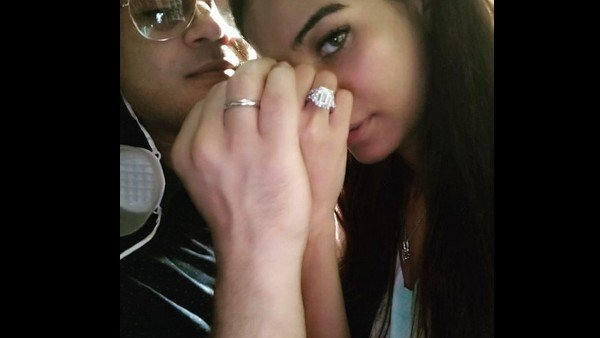 For Those, Who Missed Poonam Pandey- Sam Pandey's Engagement Picture