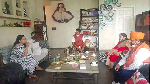 ALSO READ: Kangana Ranaut Meets Karni Sena Officials At Her Residence After BMC Demolished Her Mumbai Office