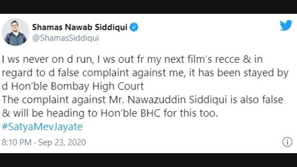 Shamas Siddiqui Reacts To Anjana's Allegations