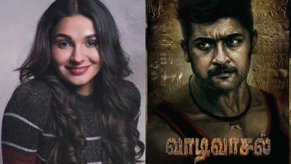 Suriyas Vaadivasal: Andrea Jeremiah To Join The Star Cast?