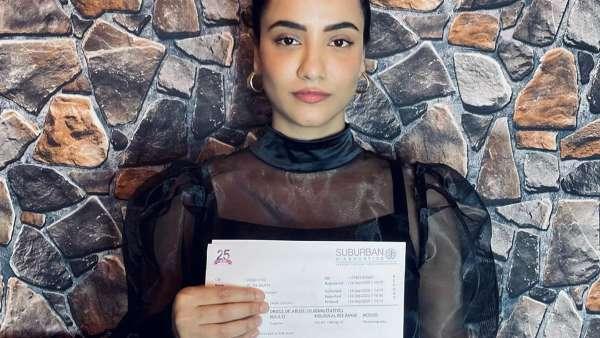 Tia Bajpai Shares Her Voluntary Drug Test Report