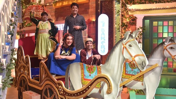 Kapil & His Team Have Fun