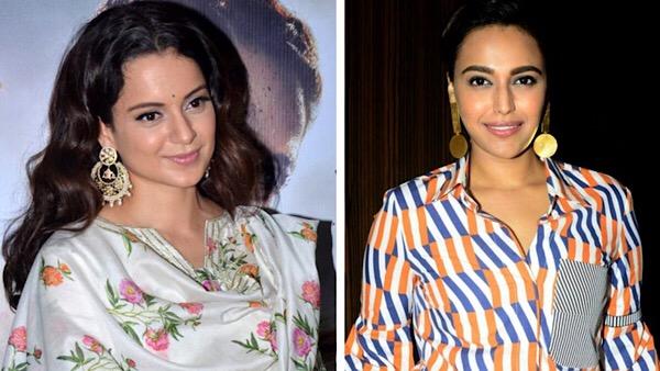 'Sickening Kangana,' Tweets Swara Bhasker; Asks Kangana Ranaut To Keep Her Filth To Herself