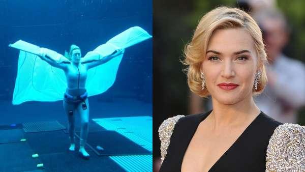 Avatar 2: Makers Reveal Kate Winslet's Behind-The-Scenes Underwater Look