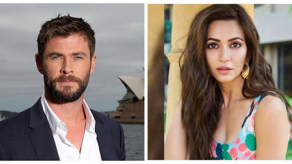 Chris Hemsworth Interacts With Kriti Kharbanda