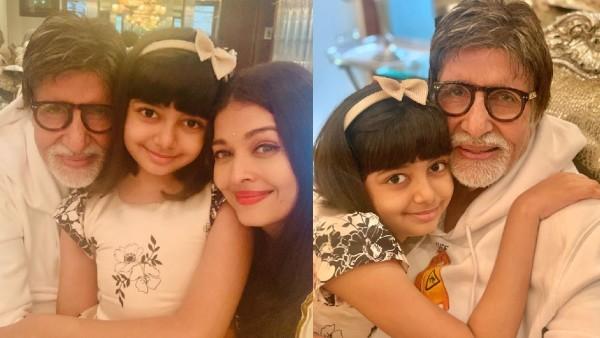 Amitabh Bachchan's Birthday Celebrations: Aaradhya And Aishwarya Rai Bachchan Shower Him With Love