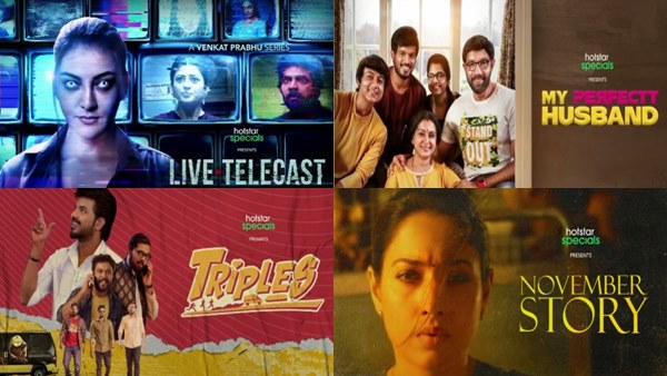 Disney+ Hotstar Announces Four Web Series In Tamil