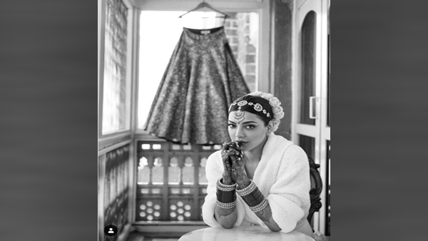 Kajal Aggarwal Posts Glimpse Of Her Bridal Look Ahead Of The Wedding With Quirky Caption