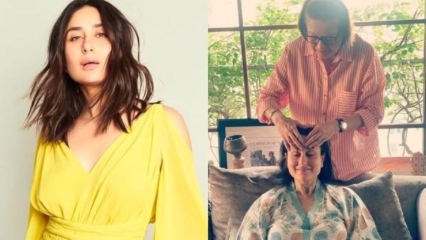 Mom-To-Be Kareena Kapoor Khan Enjoys 'Maa Ke Haath Ka Maalish'; Netizens Go All Hearts