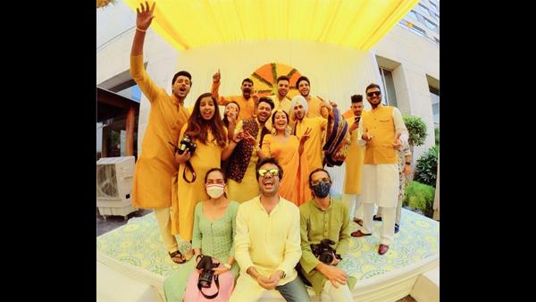 Neha Kakkar's Haldi Ceremony Pictures Go Viral
