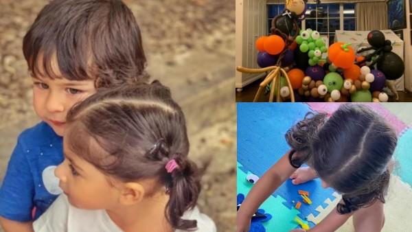 Halloween 2020: Kareena Kapoor Orders Cute Balloons For Taimur; Inaaya Makes Some DIY Decorations