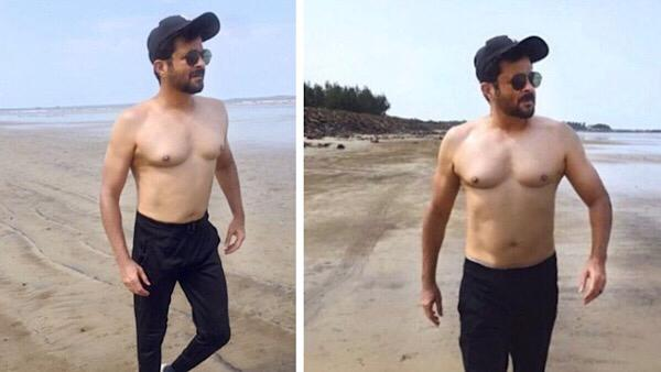 Anil Kapoor Posts Shirtless Pictures On The Beach, Talks About How His Fitness Journey Is 'Worth It'
