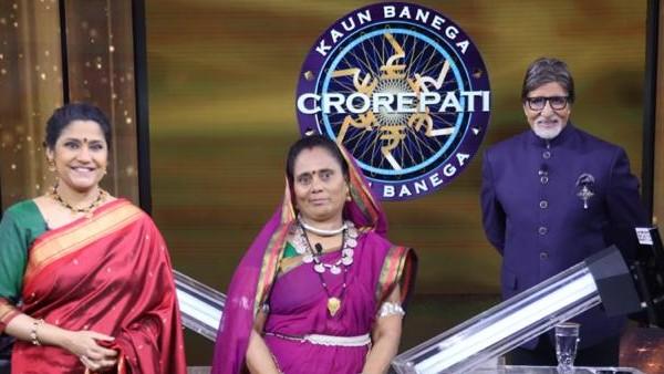 Kaun Banega Crorepati 12: Karamveer Special Episode: Renuka Shahane Accompanies Phoolbasan Yadav