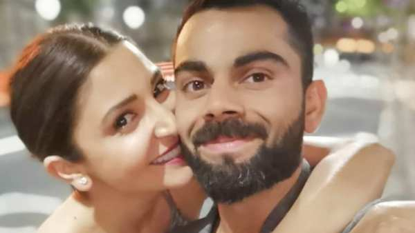 Virat Checks On Anushka From The Field; Video Goes Viral