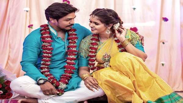 Actress Chaitra Reddy Gets Engaged To Director Rakesh Samala