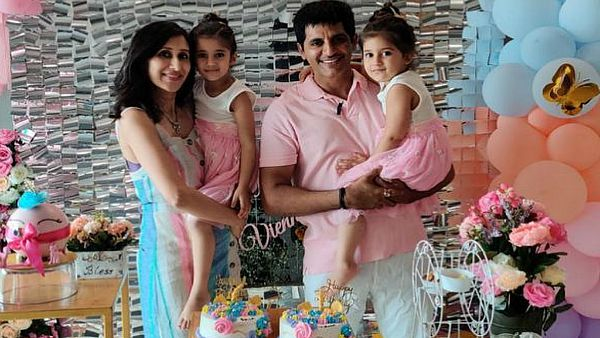 Karanvir Bohra And Teejay Celebrate Their Twins 4th Birthday