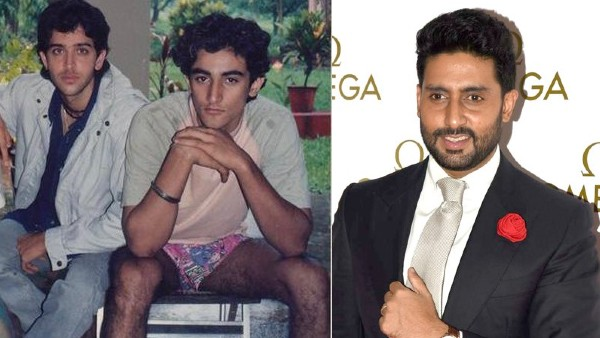 Hrithik Roshan Shares A Vintage Photo With Kunal Kapoor; Abhishek Bachchan Loves It!